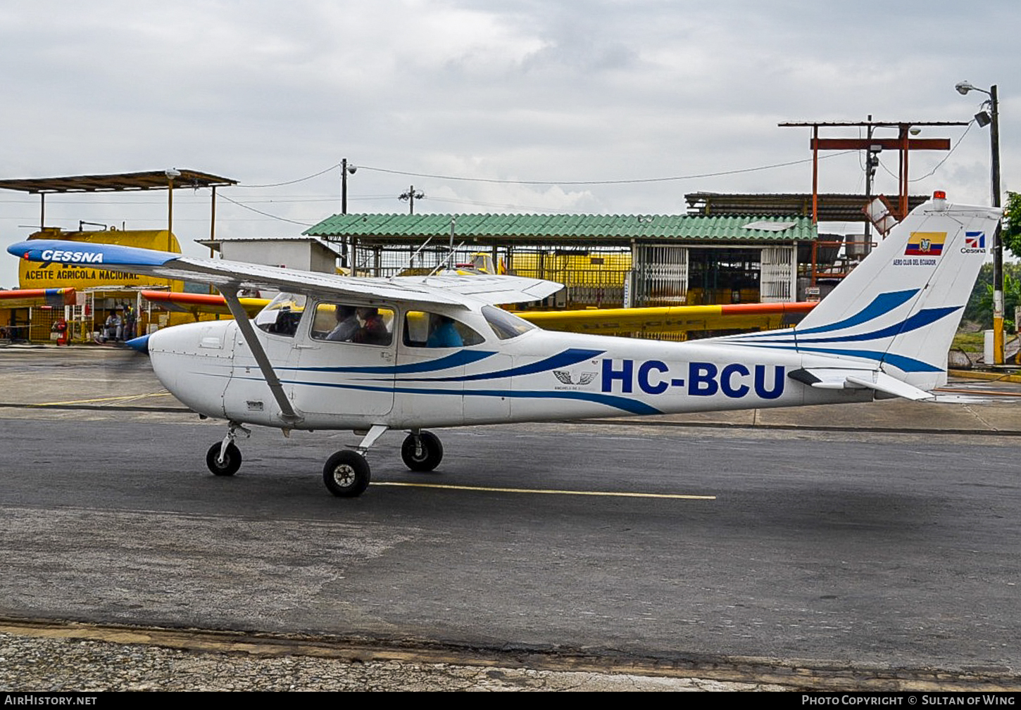 Aircraft Photo of HC-BCU | Cessna 172F | Aeroclub del Ecuador | AirHistory.net #56291