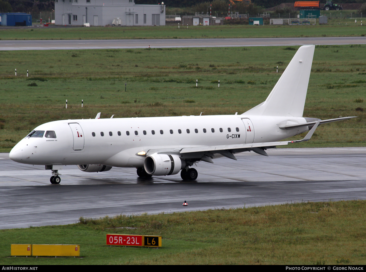 Aircraft Photo of G-CIXW | Embraer 170LR (ERJ-170-100LR) | AirHistory.net #56324