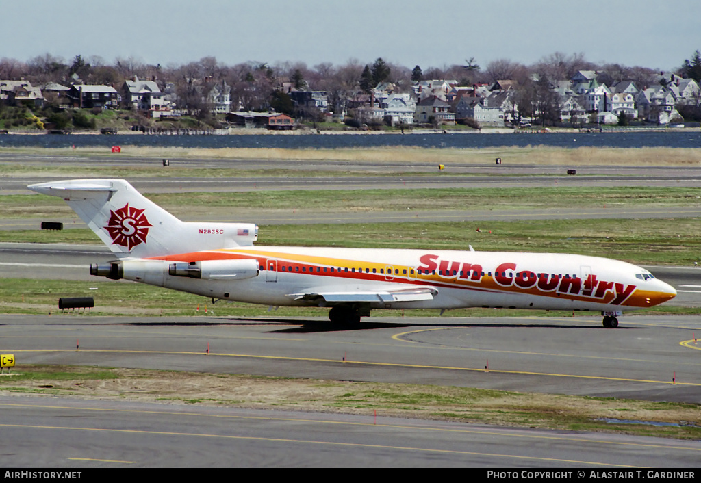 Aircraft Photo of N283SC | Boeing 727-225/Adv | Sun Country Airlines | AirHistory.net #56365