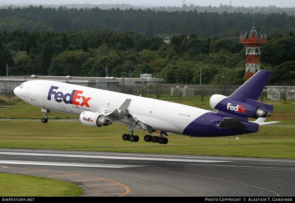 Aircraft Photo of N589FE | McDonnell Douglas MD-11(F) | Fedex - Federal Express | AirHistory.net #56403