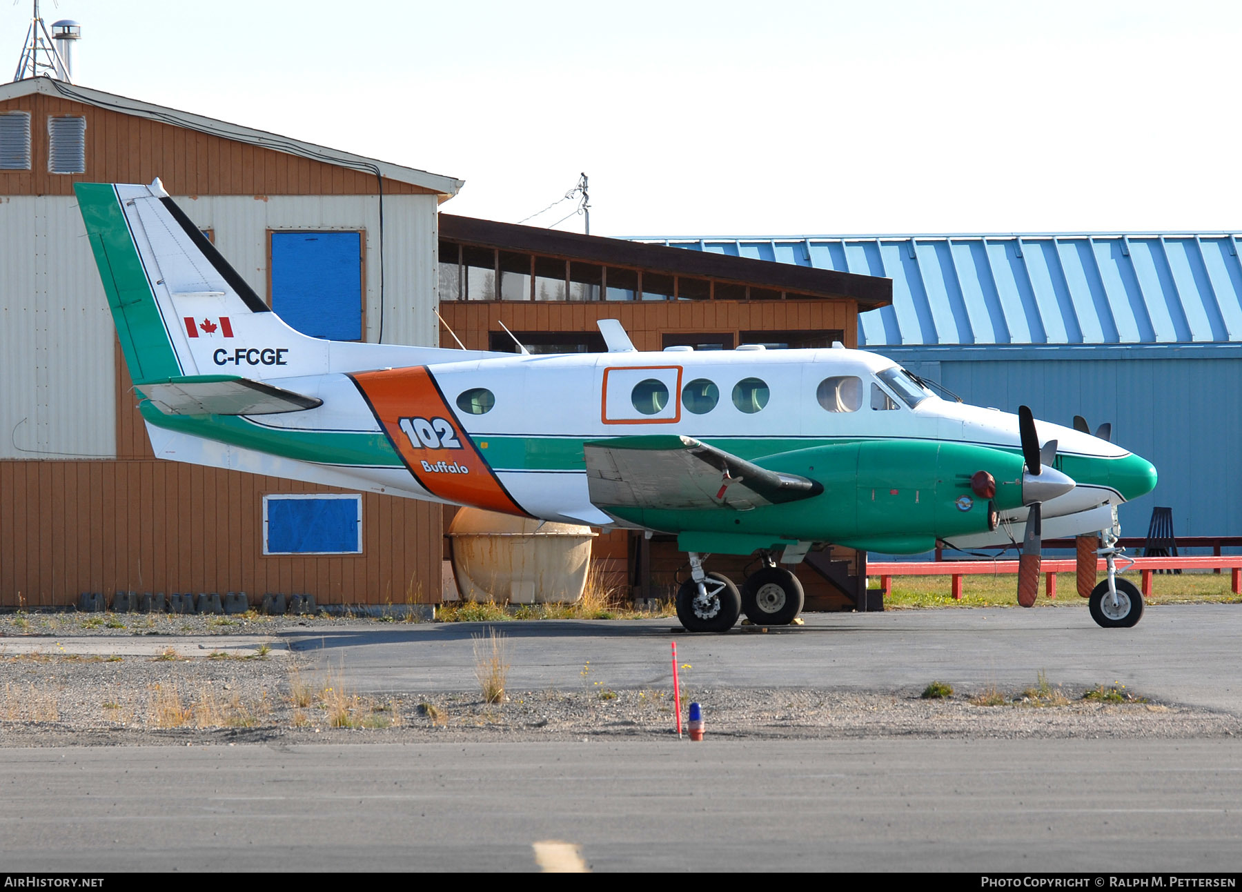 Aircraft Photo of C-FCGE | Beech 65-A90 King Air | Buffalo Airways | AirHistory.net #56747
