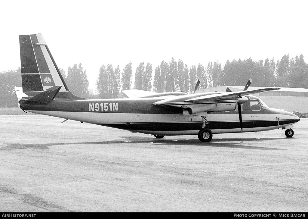 Aircraft Photo of N9151N | North American Rockwell 690 Turbo Commander | AirHistory.net #57329