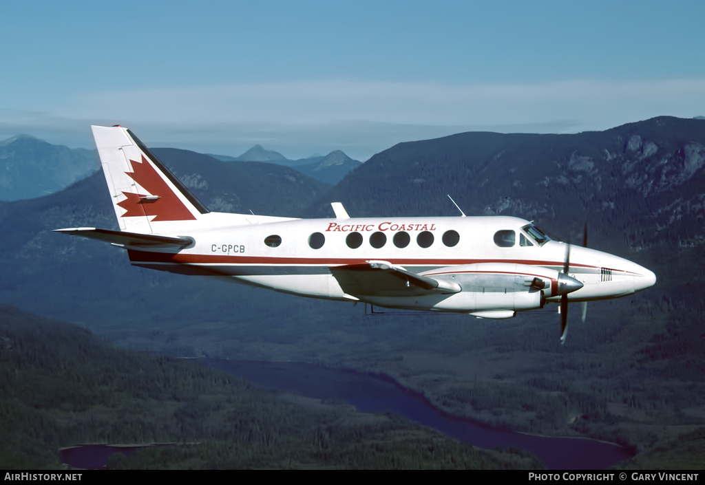 Aircraft Photo of C-GPCB | Beech 100 King Air | Pacific Coastal Airlines | AirHistory.net #57347