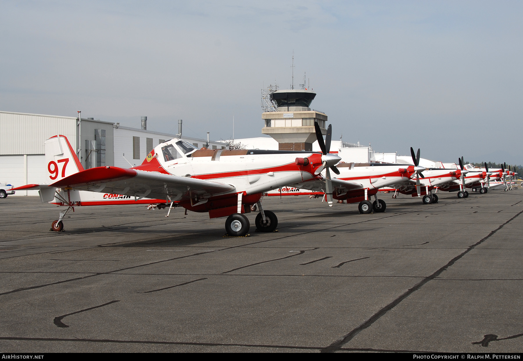 Aircraft Photo of C-GBPV | Air Tractor AT-802F | Conair Aviation | AirHistory.net #57462