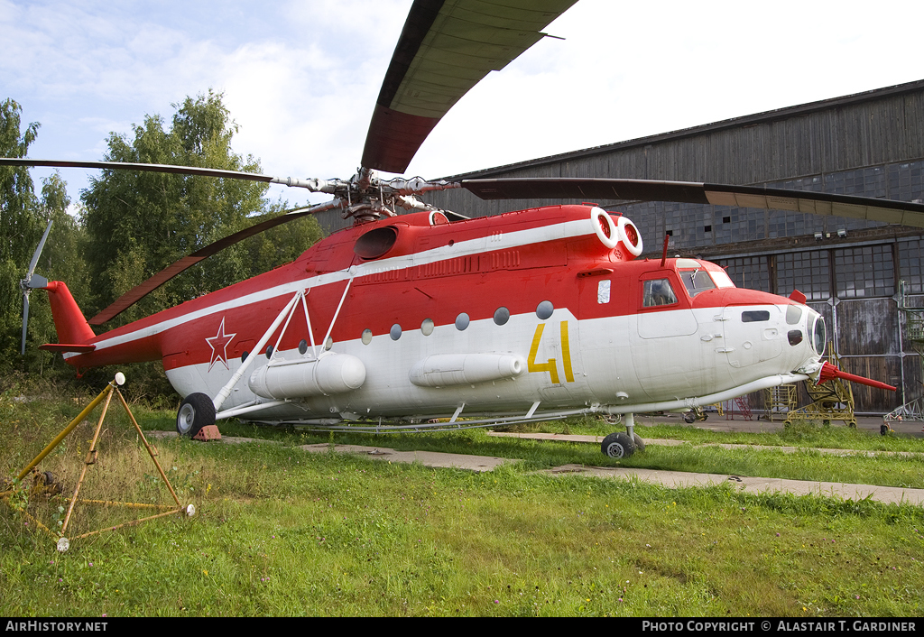 Aircraft Photo of 41 yellow | Mil Mi-6POZh | Russia - Air Force | AirHistory.net #57463