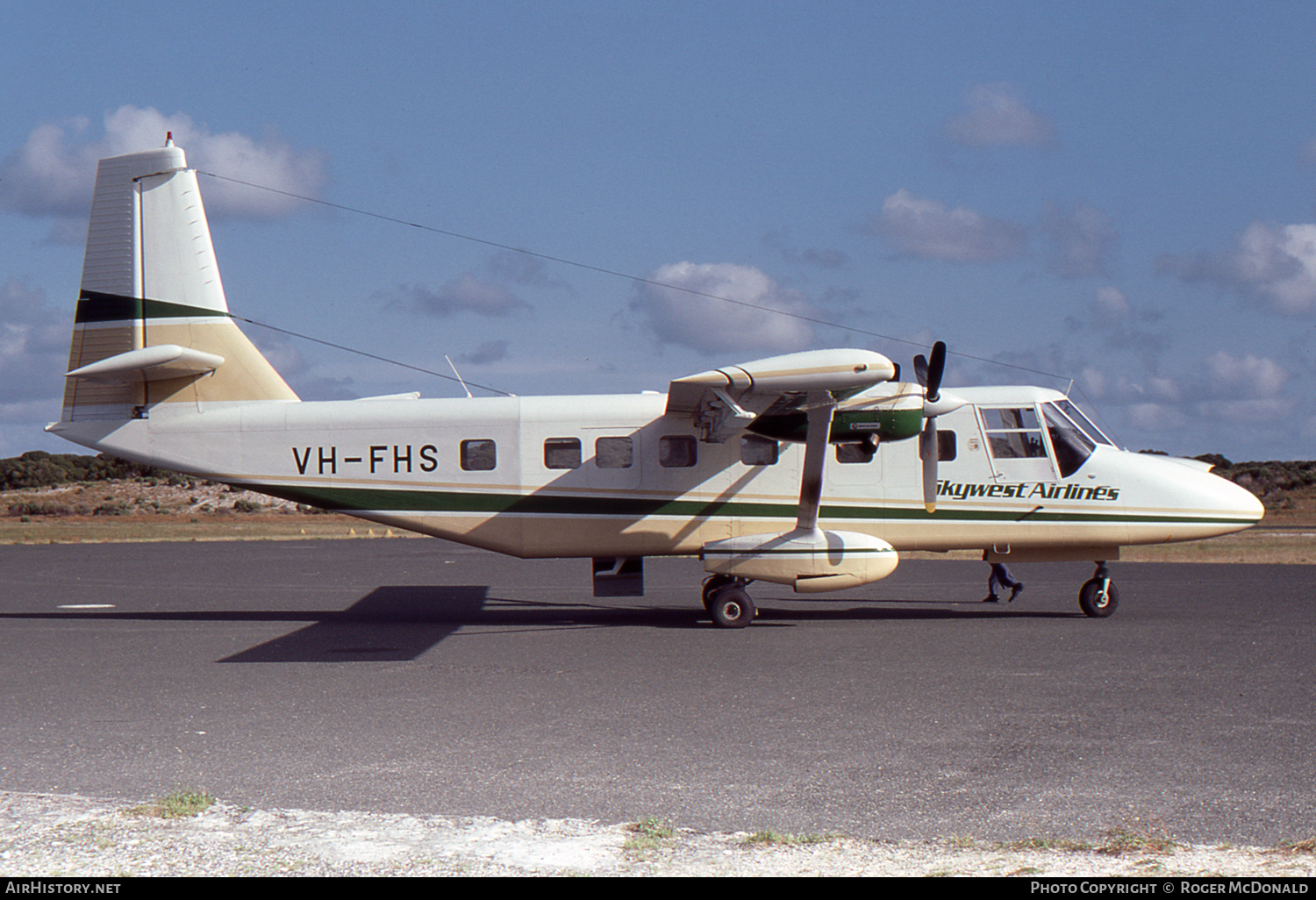 Aircraft Photo of VH-FHS | GAF N-22A Nomad | Skywest Airlines | AirHistory.net #57635