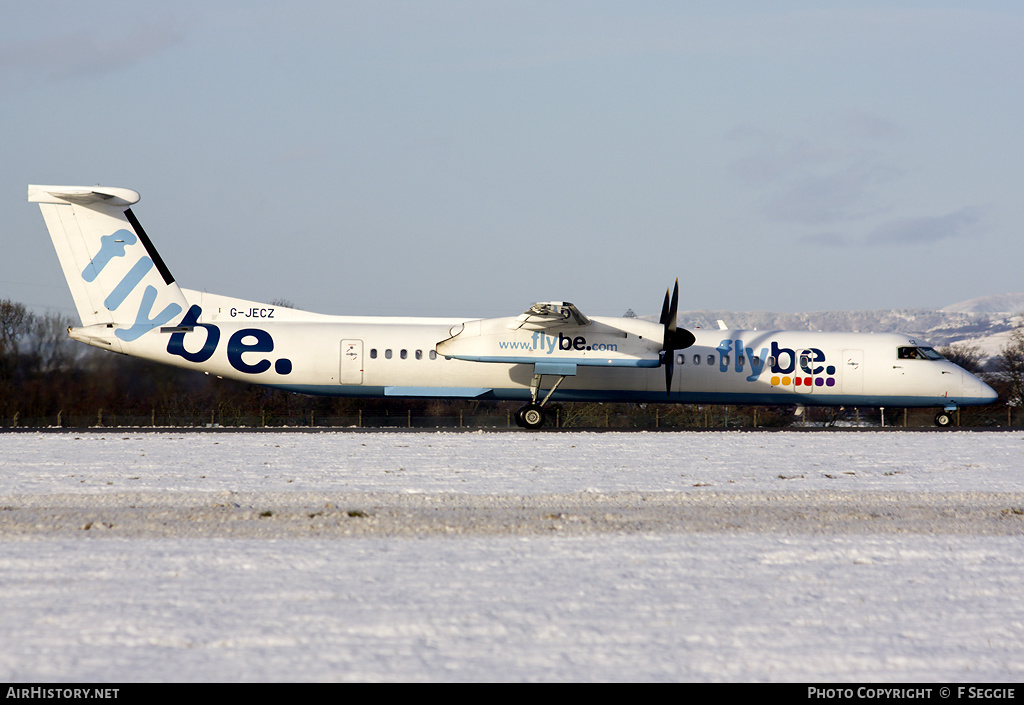Aircraft Photo of G-JECZ | Bombardier DHC-8-402 | Flybe | AirHistory.net #57757