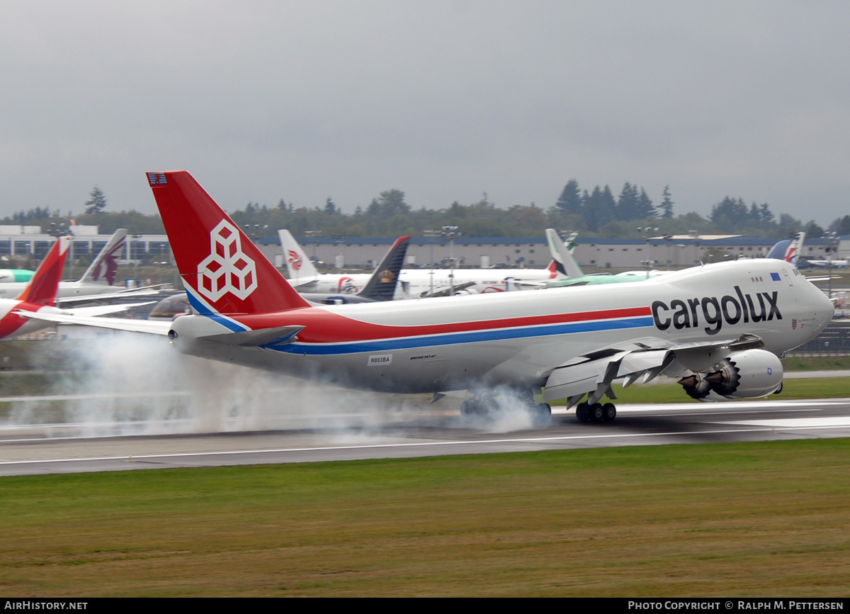 Aircraft Photo of N803BA | Boeing 747-8R7F/SCD | Cargolux | AirHistory.net #57781
