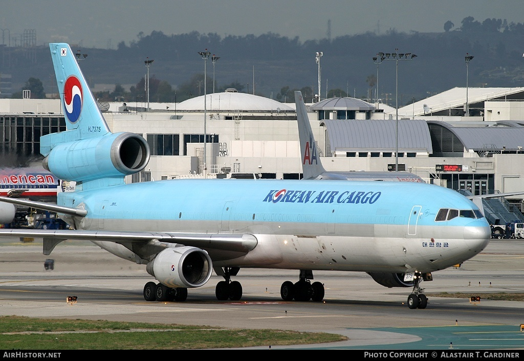 Aircraft Photo of HL7375 | McDonnell Douglas MD-11(F) | Korean Air Cargo | AirHistory.net #58086