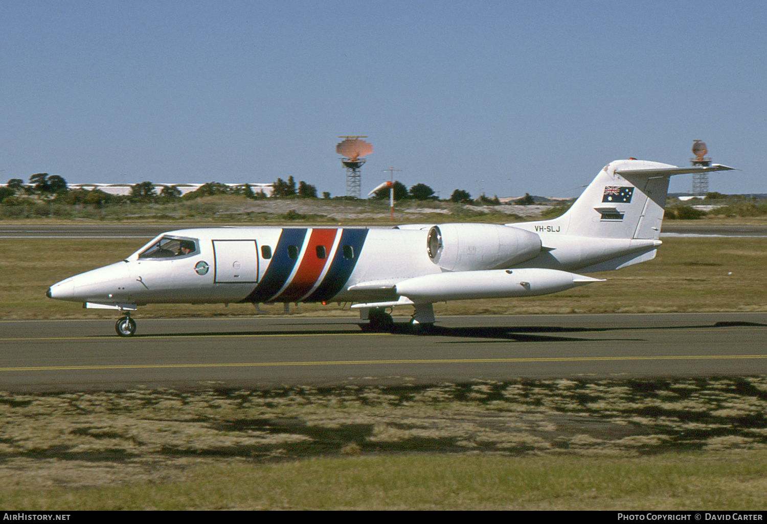Aircraft Photo of VH-SLJ | Gates Learjet 35 | Lloyd Aviation | AirHistory.net #58492