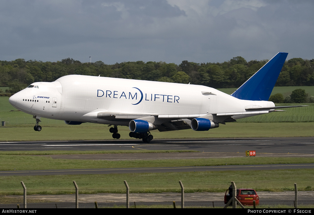 Aircraft Photo of N780BA | Boeing 747-409(LCF) Dreamlifter | Boeing | AirHistory.net #58919