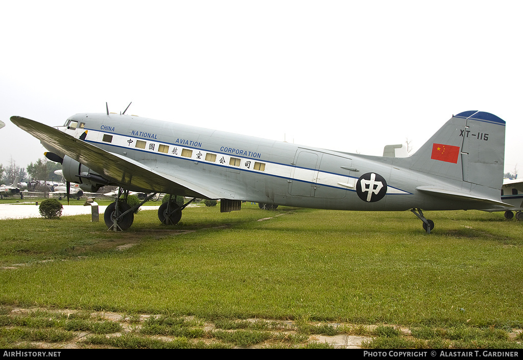 Aircraft Photo of XT-115 | Douglas C-47B / TS-62 | China National Aviation Corporation - CNAC | AirHistory.net #59182