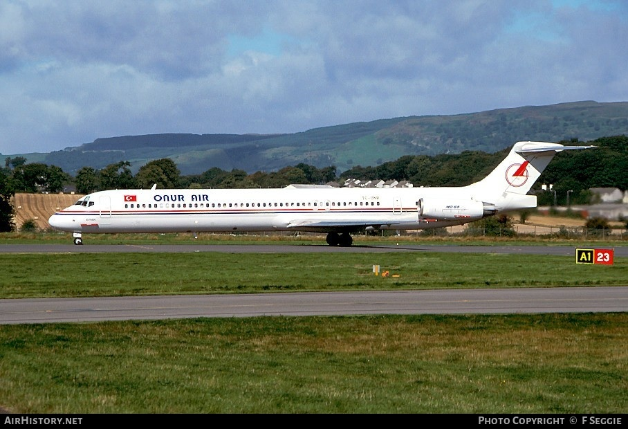Aircraft Photo of TC-ONR | McDonnell Douglas MD-88 | Onur Air | AirHistory.net #59216
