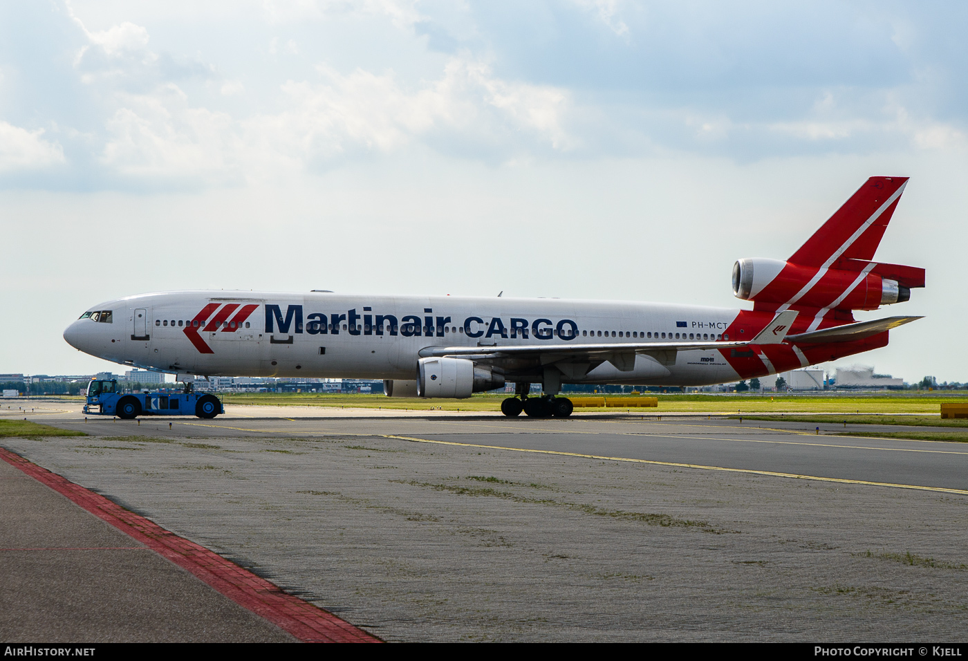 Aircraft Photo of PH-MCT | McDonnell Douglas MD-11CF | Martinair Cargo | AirHistory.net #59319