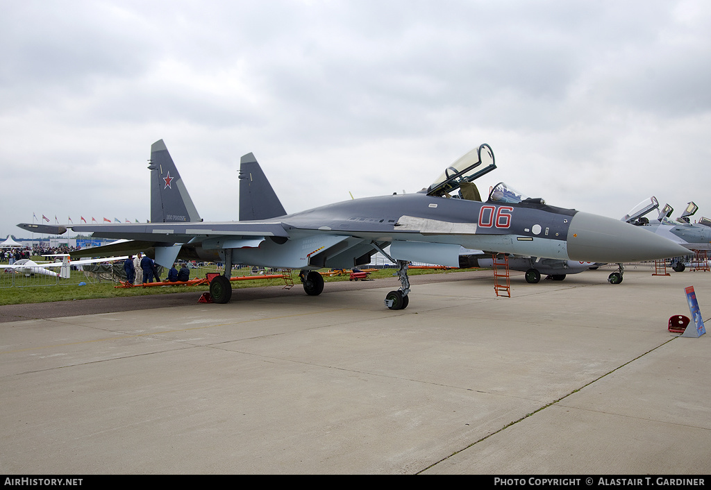 Aircraft Photo of 06 red | Sukhoi Su-35S | Russia - Air Force | AirHistory.net #59456