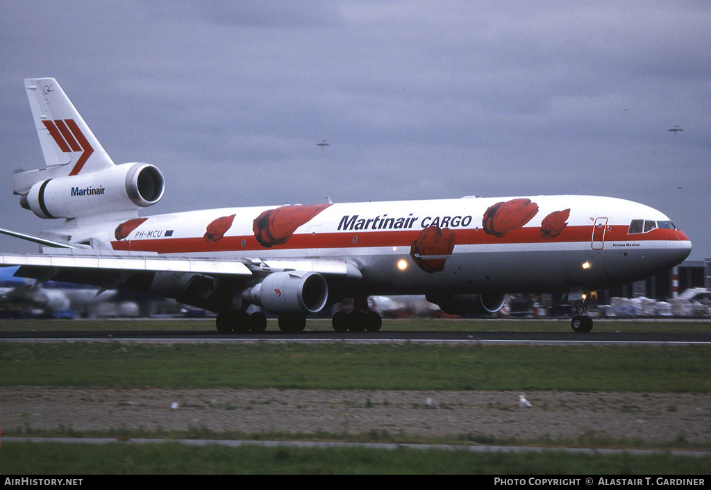 Aircraft Photo of PH-MCU | McDonnell Douglas MD-11F | Martinair Cargo | AirHistory.net #59489