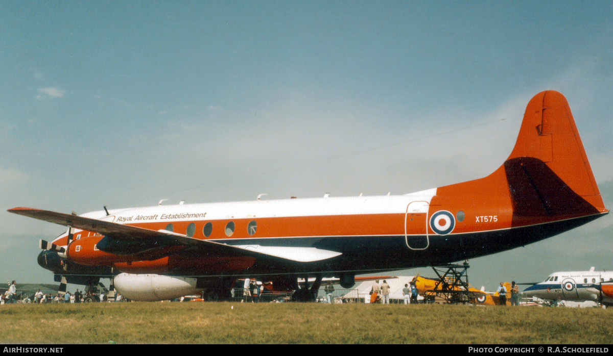 Aircraft Photo of XT575 | Vickers 837 Viscount | UK - Air Force | AirHistory.net #59697