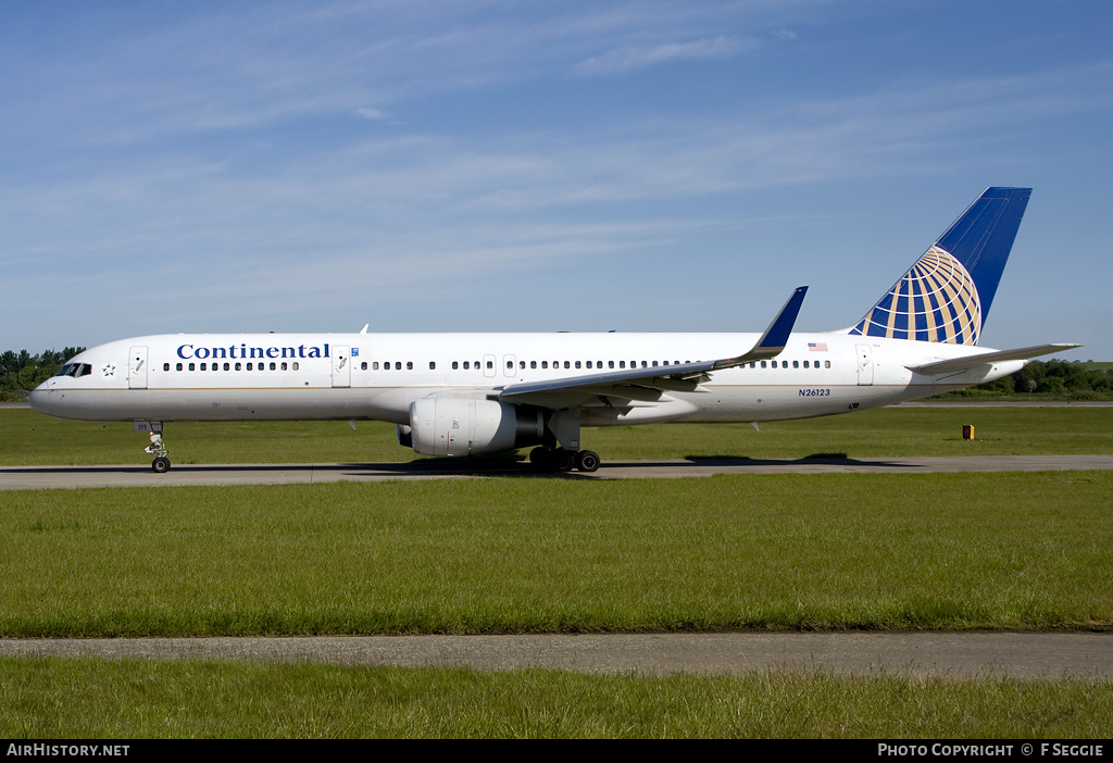Aircraft Photo of N26123 | Boeing 757-224 | Continental Airlines | AirHistory.net #59776
