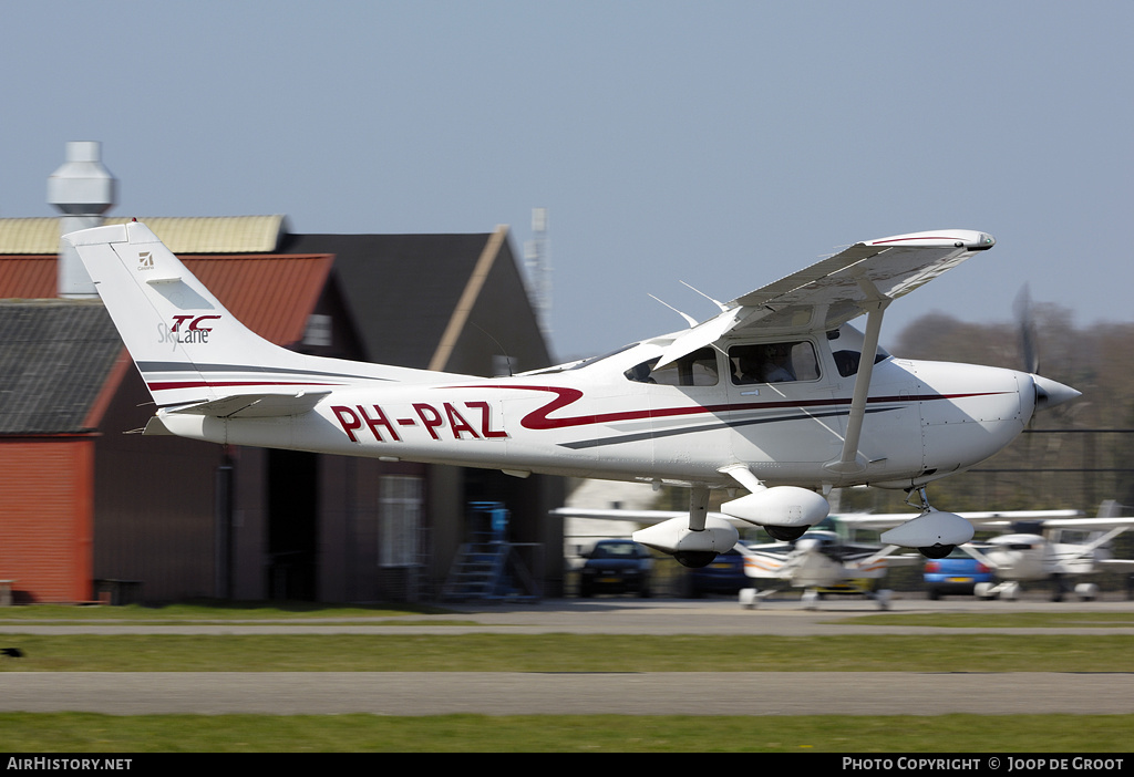 Aircraft Photo of PH-PAZ | Cessna T182T Turbo Skylane | AirHistory.net #60000