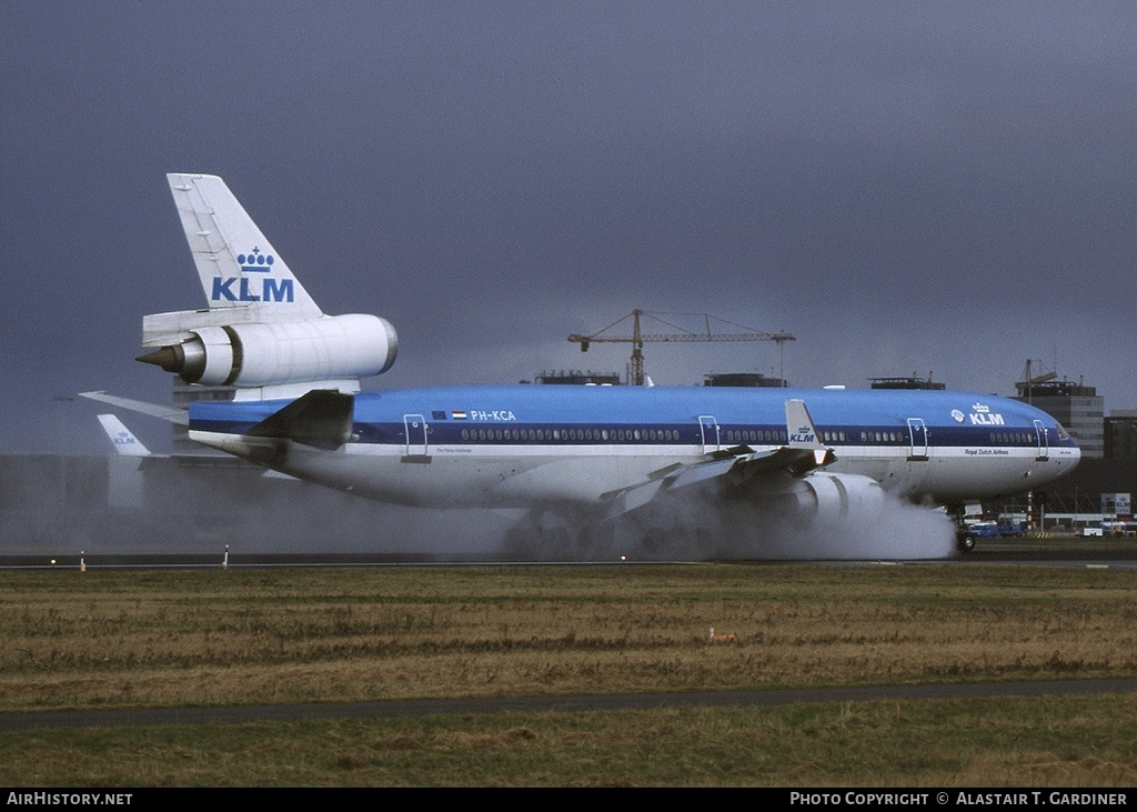 Aircraft Photo of PH-KCA | McDonnell Douglas MD-11 | KLM - Royal Dutch Airlines | AirHistory.net #60078