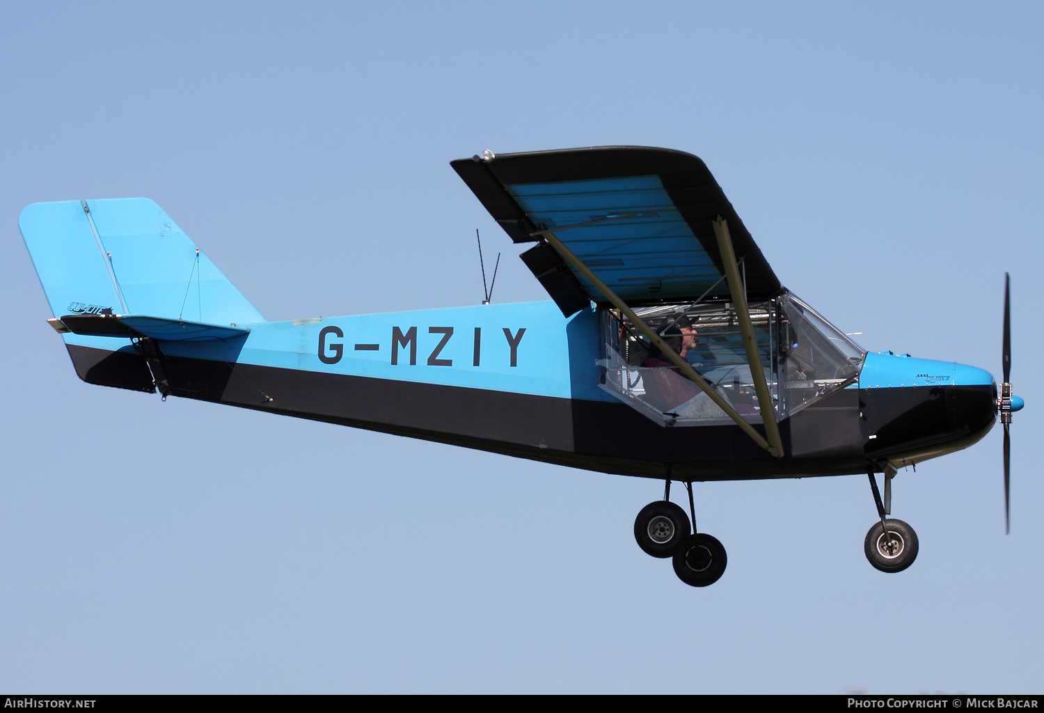 Aircraft Photo of G-MZIY | Rans S-6ESD-XL/Mod/TR Coyote II | AirHistory.net #60092