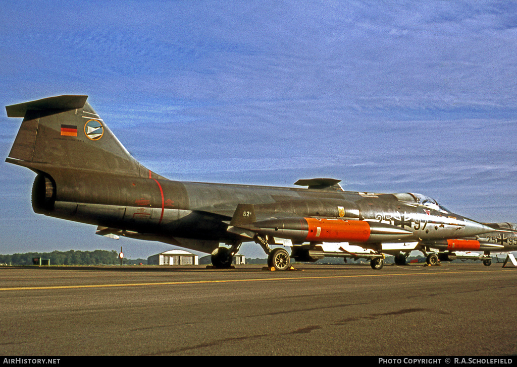 Aircraft Photo of 2597 | Lockheed F-104G Starfighter | Germany - Air Force | AirHistory.net #60105