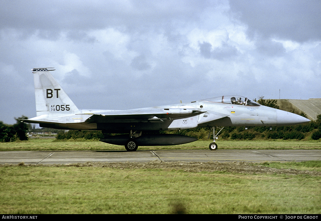 Aircraft Photo of 79-0055 / AF79-055 | McDonnell Douglas F-15C Eagle | USA - Air Force | AirHistory.net #60164