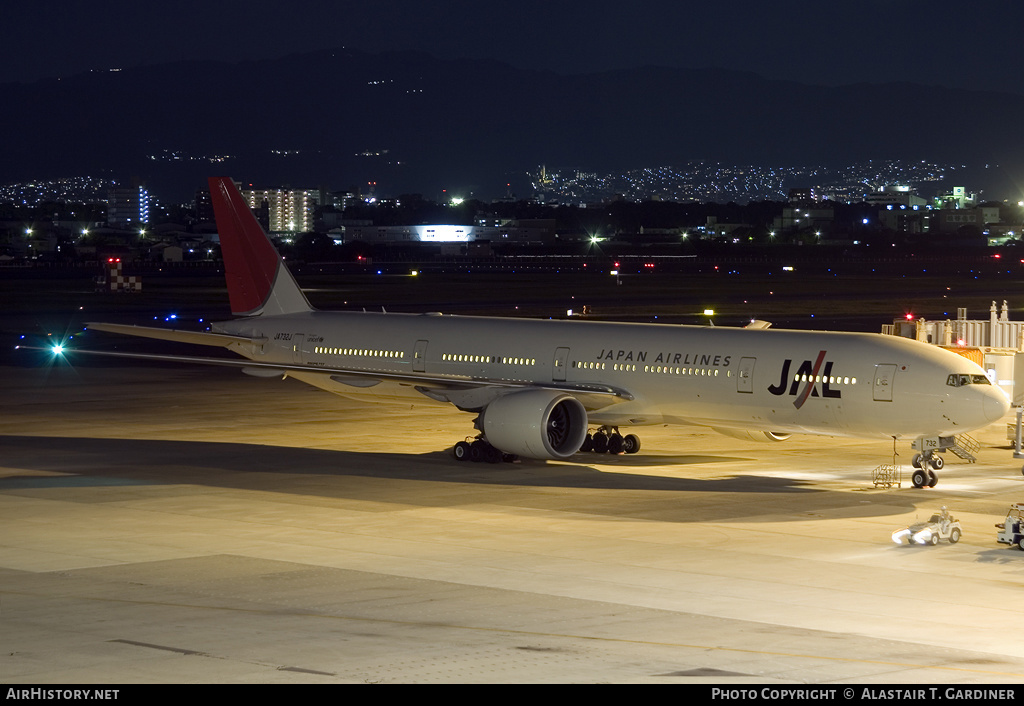 Aircraft Photo of JA732J | Boeing 777-346/ER | Japan Airlines - JAL | AirHistory.net #60186