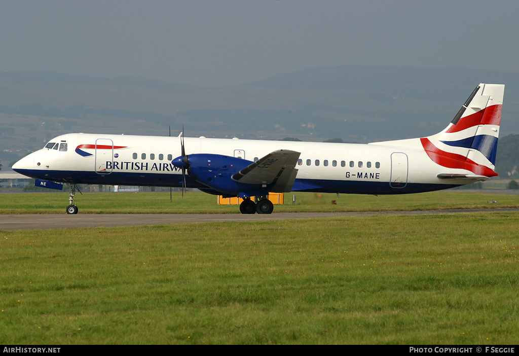 Aircraft Photo of G-MANE | British Aerospace ATP | British Airways | AirHistory.net