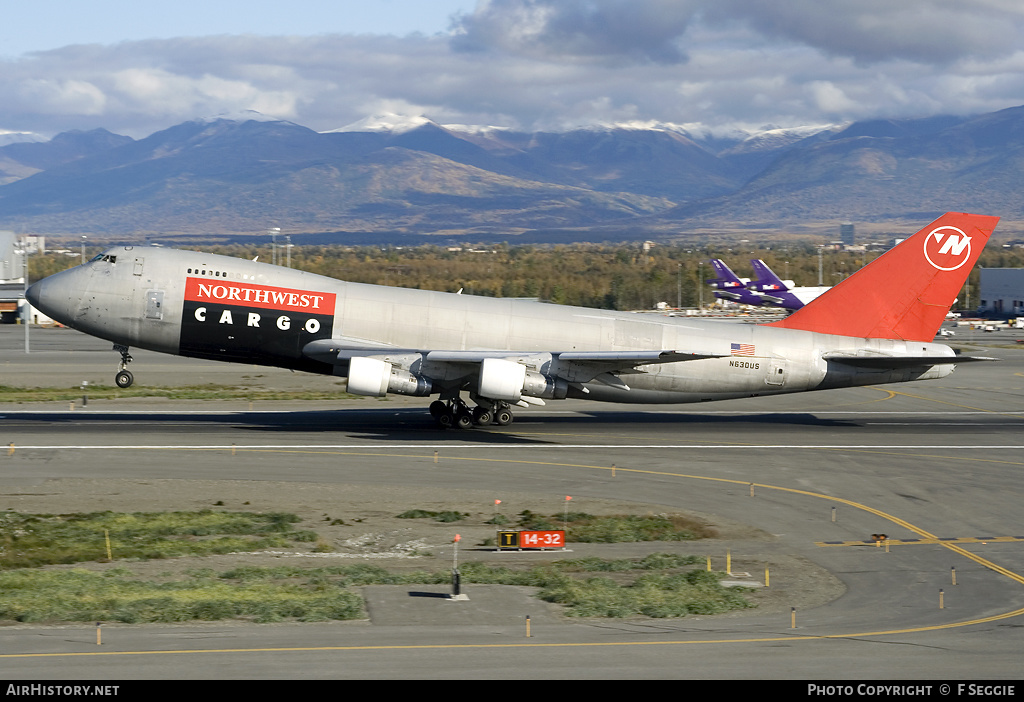 Aircraft Photo of N630US | Boeing 747-2J9F/SCD | Northwest Airlines Cargo | AirHistory.net
