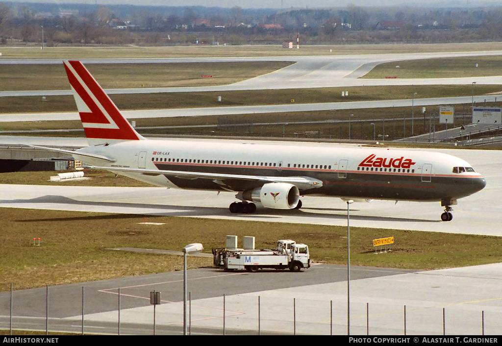 Aircraft Photo of OE-LAX | Boeing 767-3Z9/ER | Lauda Air | AirHistory.net