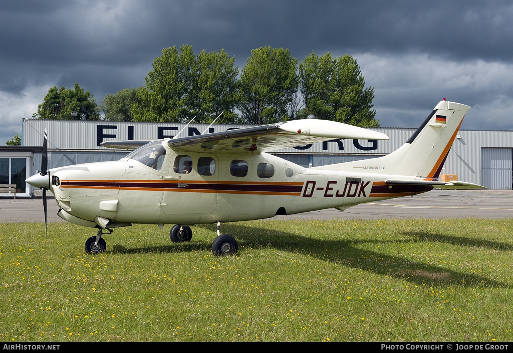 Aircraft Photo of D-EJDK | Cessna P210N Pressurized Centurion II | AirHistory.net