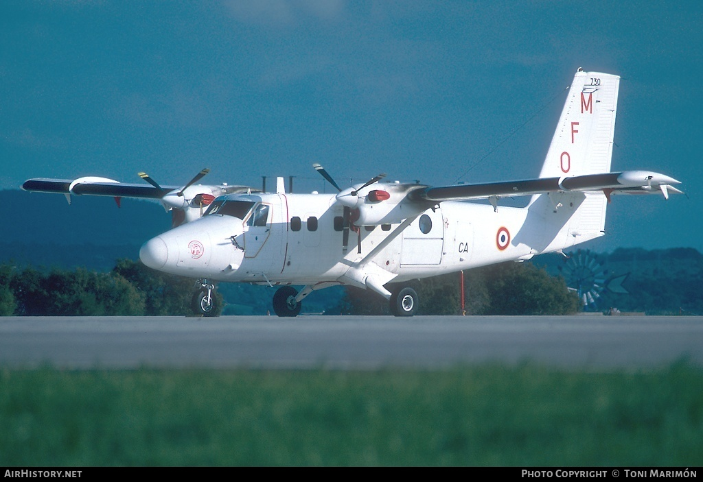 Aircraft Photo of 730 | De Havilland Canada DHC-6-300 Twin Otter | France - Air Force | AirHistory.net #72762
