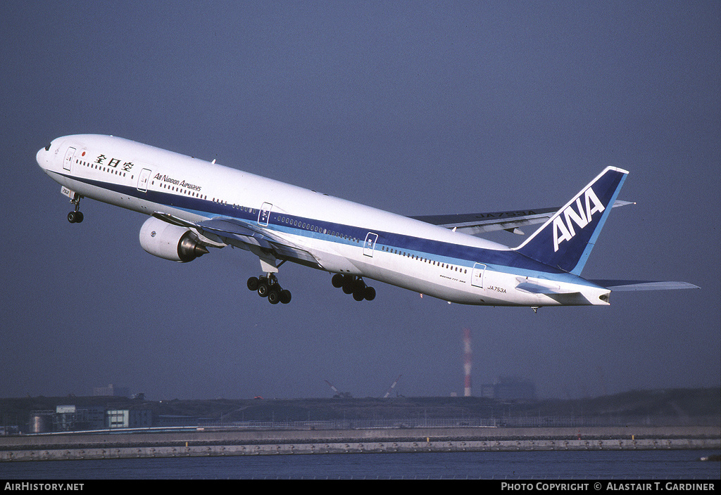 Aircraft Photo of JA753A | Boeing 777-381 | All Nippon Airways - ANA | AirHistory.net #74179