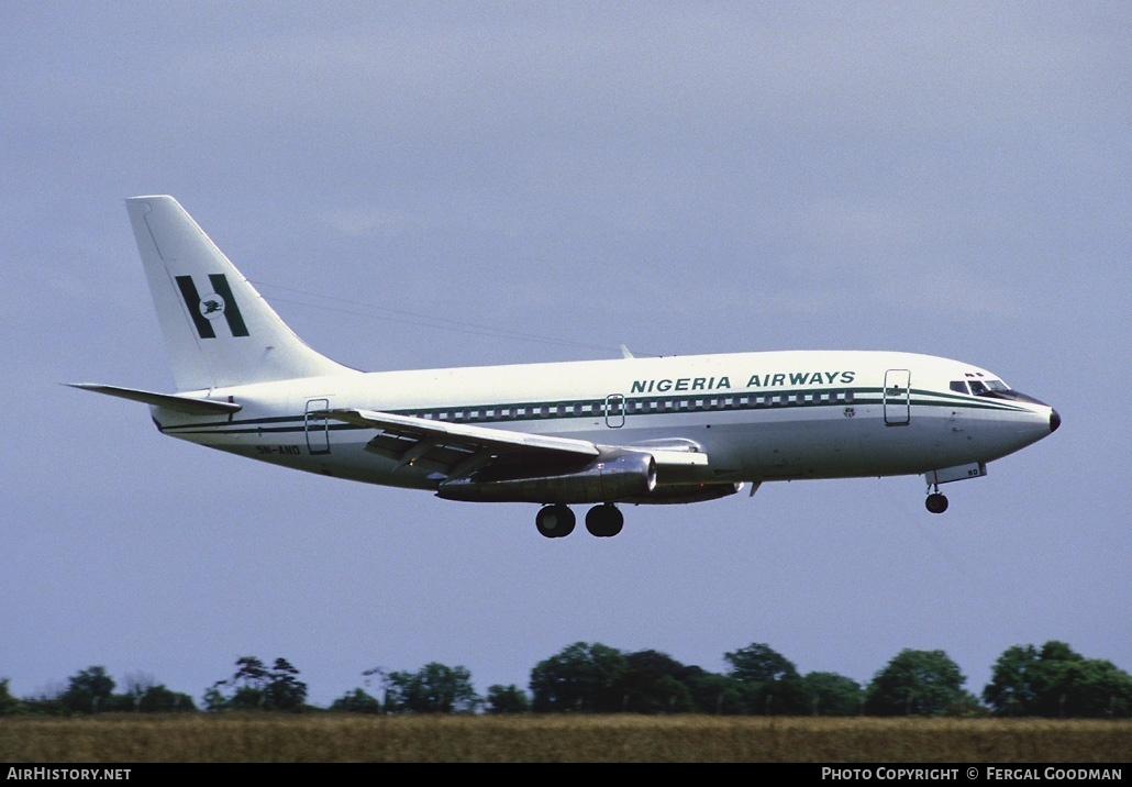 Aircraft Photo of 5N-AND | Boeing 737-2F9/Adv | Nigeria Airways | AirHistory.net