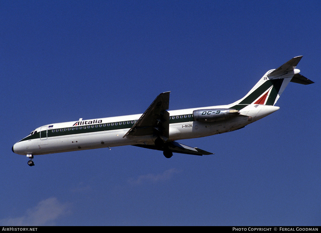 Aircraft Photo of I-RIZK | McDonnell Douglas DC-9-32 | Alitalia | AirHistory.net #75407