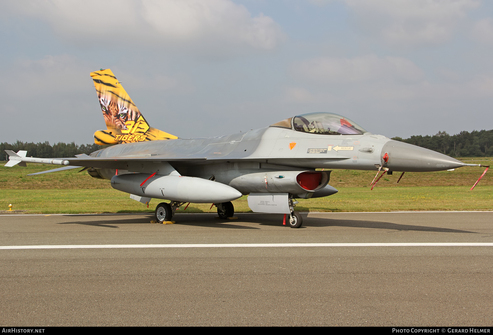 Aircraft Photo of FA-106 | General Dynamics F-16AM Fighting Falcon | Belgium - Air Force | AirHistory.net #75512