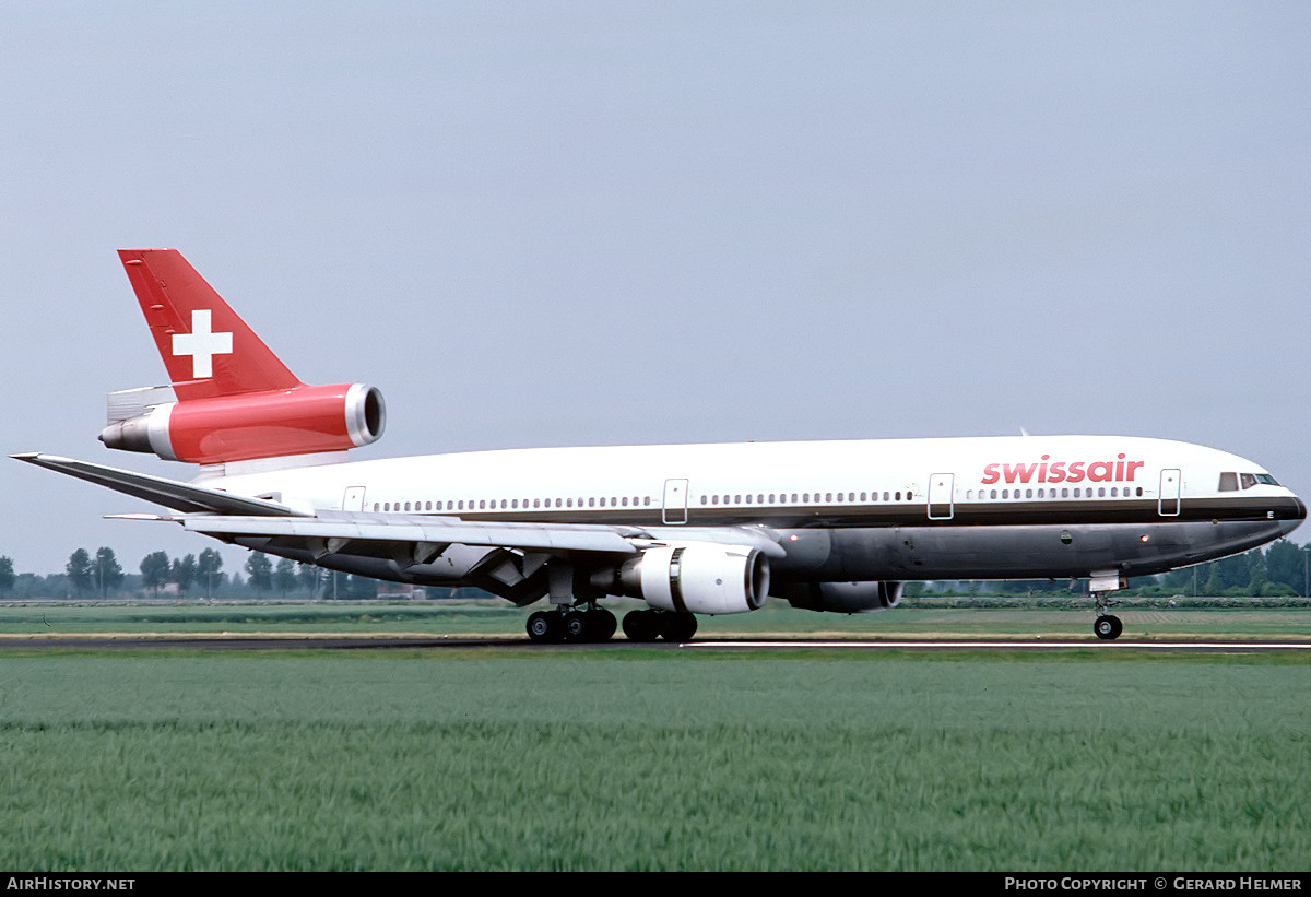 Aircraft Photo of HB-IHE | McDonnell Douglas DC-10-30 | Swissair | AirHistory.net #75803