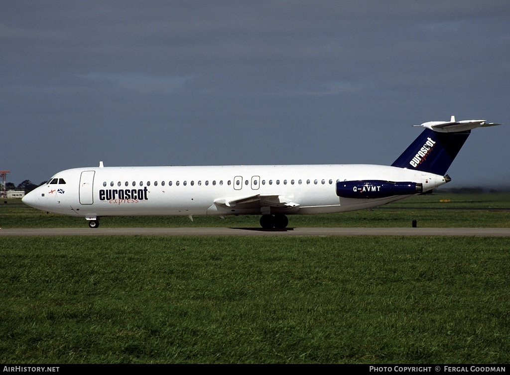 Aircraft Photo of G-AVMT | BAC 111-510ED One-Eleven | Euroscot Express | AirHistory.net #76032