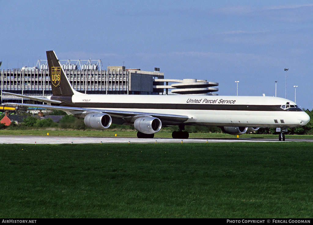 Aircraft Photo of N750UP | McDonnell Douglas DC-8-71(F) | United Parcel Service - UPS | AirHistory.net