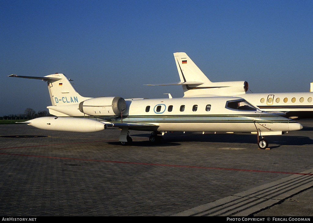Aircraft Photo of D-CLAN | Gates Learjet 35A | AirHistory.net #76587