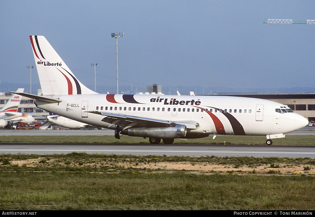 Aircraft Photo of F-GCLL | Boeing 737-222 | Air Liberté | AirHistory.net #76595