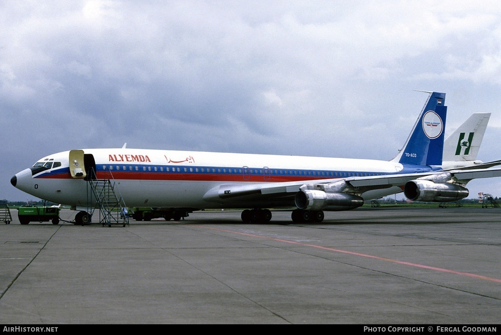 Aircraft Photo of 7O-ACO | Boeing 707-336C | Alyemda | AirHistory.net #77078