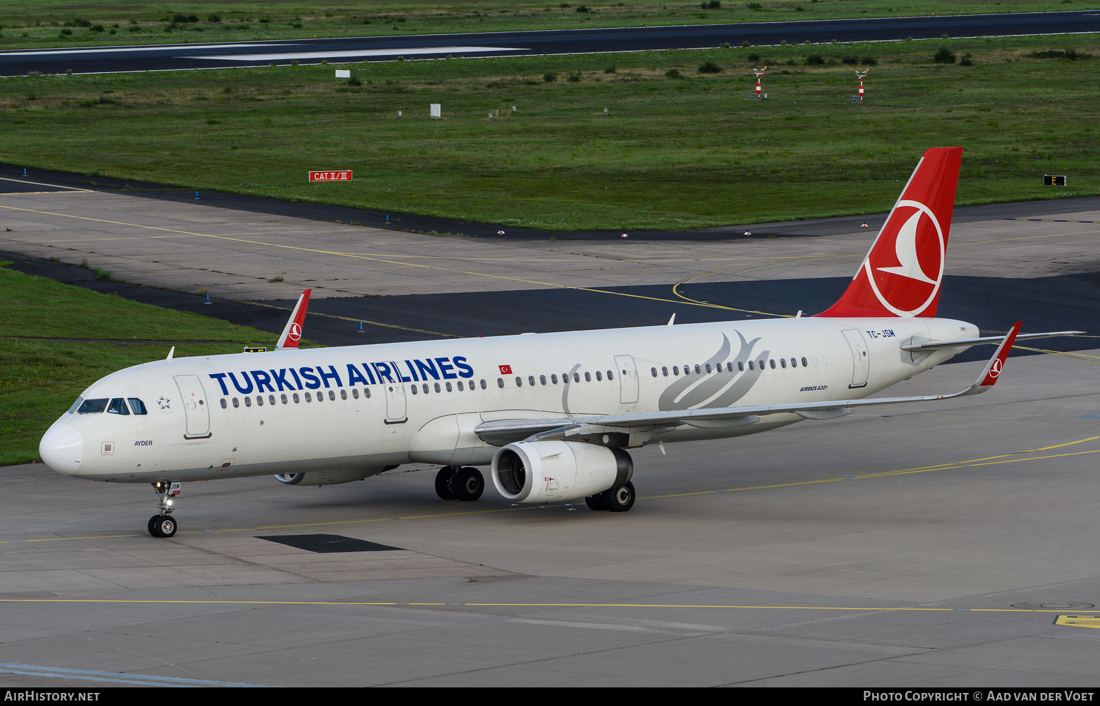 Aircraft Photo of TC-JSM | Airbus A321-231 | Turkish Airlines | AirHistory.net #77109