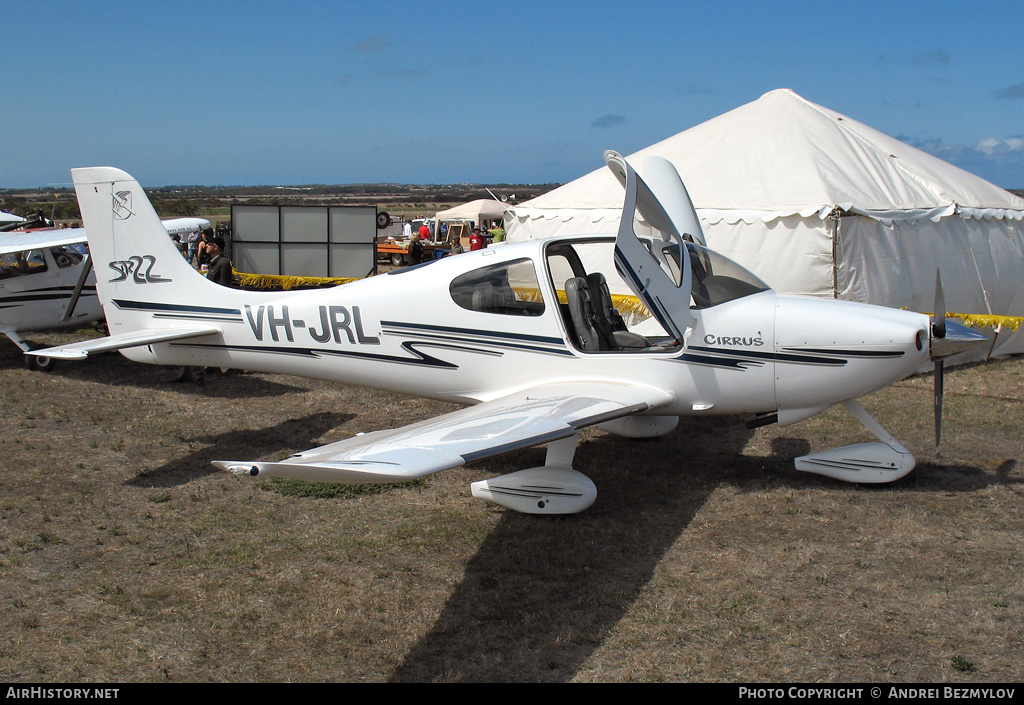 Aircraft Photo of VH-JRL | Cirrus SR-22 | AirHistory.net #77242