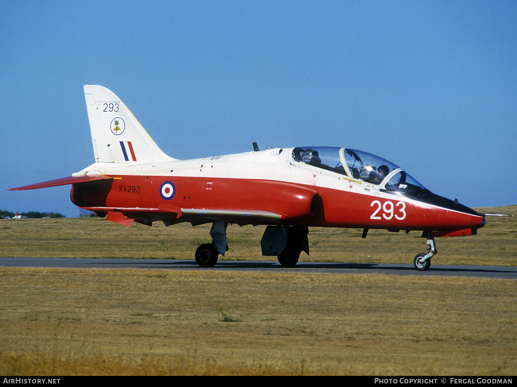 Aircraft Photo of XX293 | British Aerospace Hawk T1 | UK - Air Force | AirHistory.net #77424