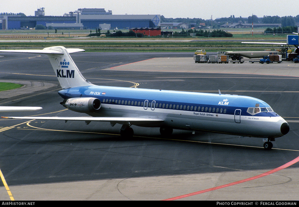 Aircraft Photo of PH-DOA | McDonnell Douglas DC-9-32 | KLM - Royal Dutch Airlines | AirHistory.net #77495