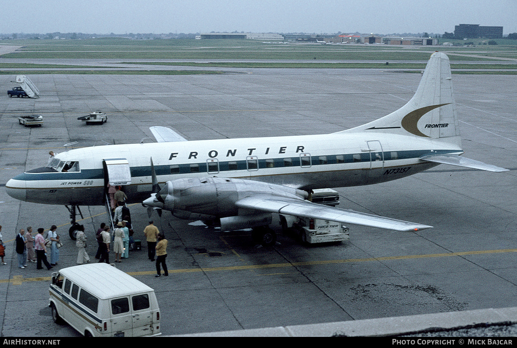 Aircraft Photo of N73157 | Convair 580 | Frontier Airlines | AirHistory.net #77687