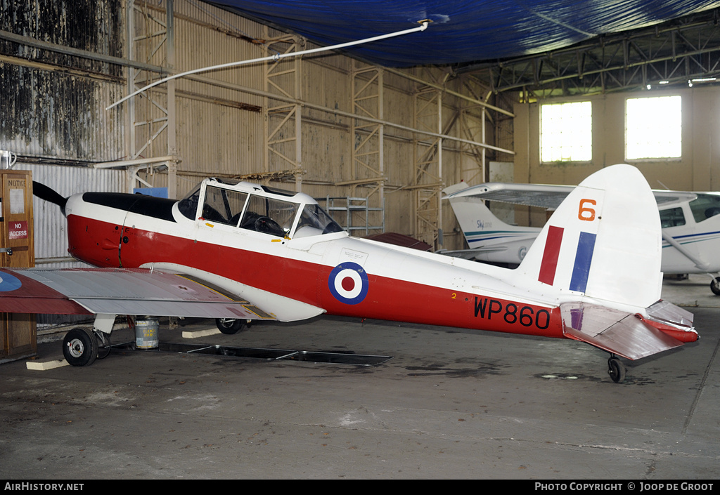 Aircraft Photo of G-BXDA / WP860 | De Havilland DHC-1 Chipmunk T10 | UK - Air Force | AirHistory.net #77765