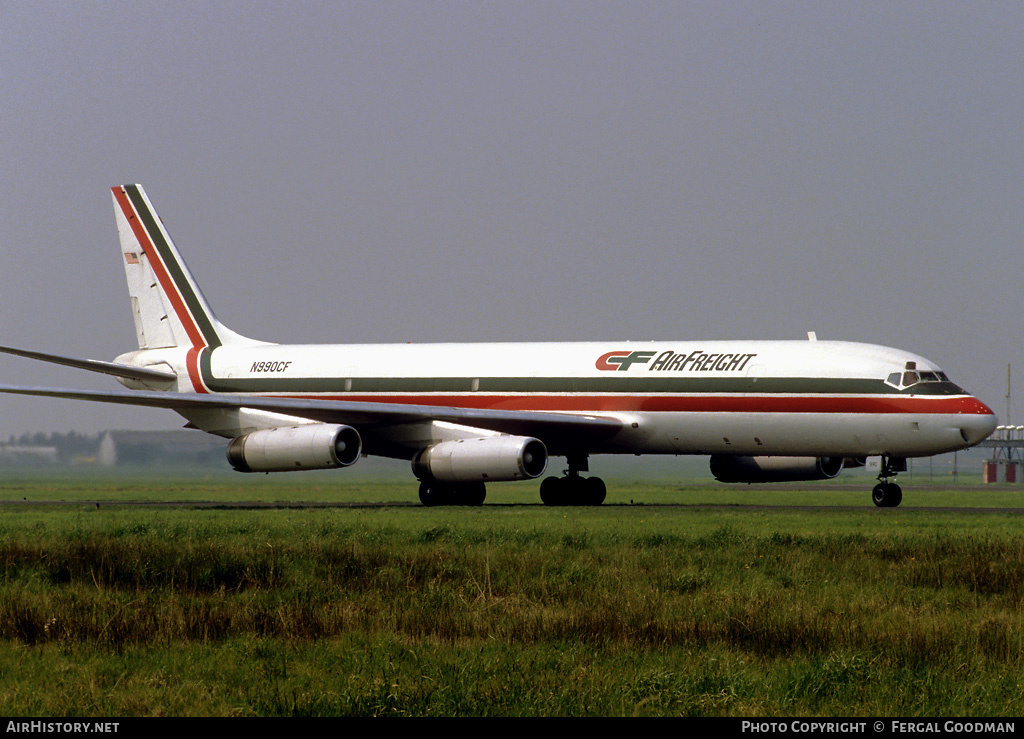 Aircraft Photo of N990CF | McDonnell Douglas DC-8-62H(F) | CF Airfreight | AirHistory.net #77932